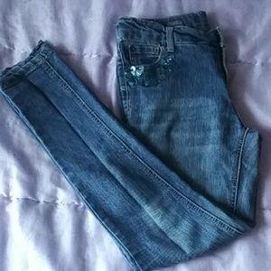Girls Skinny Jeans - Cherokee Size 16